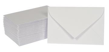 Gallery enveloppen voor visitekaarten, ft 95 x 145 mm, gegomd, doos van 50 stuks