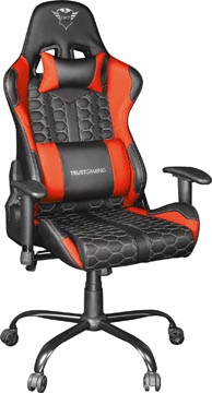 Trust GXT 708R Resto Gaming stoel, zwart-rood