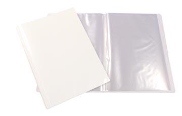 Beautone personaliseerbaar showalbum, A4, 10 tassen, wit
