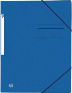 Elba Oxford Top File+ elastomap, voor ft A4, blauw