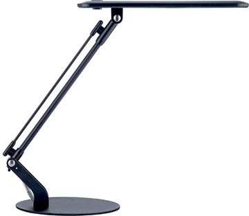 Unilux LED bureaulamp Rumbaled, zwart