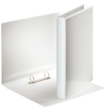 Esselte personaliseerbare ringmap, rug van 3,8 cm, 2 O-ringen van 25 mm, wit
