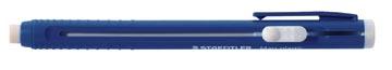 Staedtler gum Mars Plastic gumhouder, blauw lichaam
