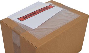 Cleverpack documenthouder Documents Enclosed, ft 230 x 157 mm, pak van 100 stuks