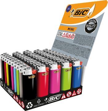 BIC J25 Mini aansteker standaard tray x50