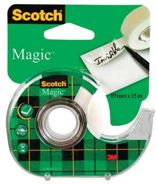 Scotch plakband Magic Tape ft 19 mm x 15 m