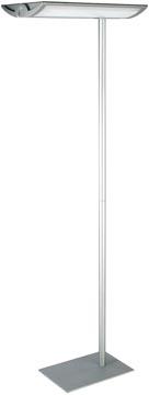 Maul vloerlamp MAULcentauri, zilver