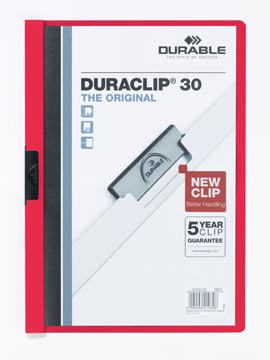 Durable klemmap Duraclip Original 30 rood