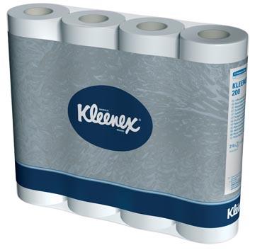 Kleenex toiletpapier, 2-laags, 210 vellen, pak van 12 rollen