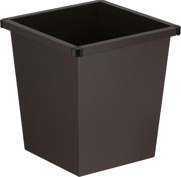 V-Part papiermand, 27 liter, zwart
