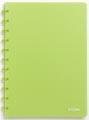 Atoma cahier Trendy ft A4, quadrillé 5 mm, vert transparent